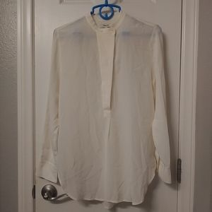Madewell silk blouse nwot